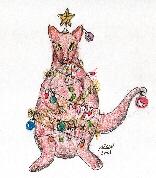 Christmas Wallaby
