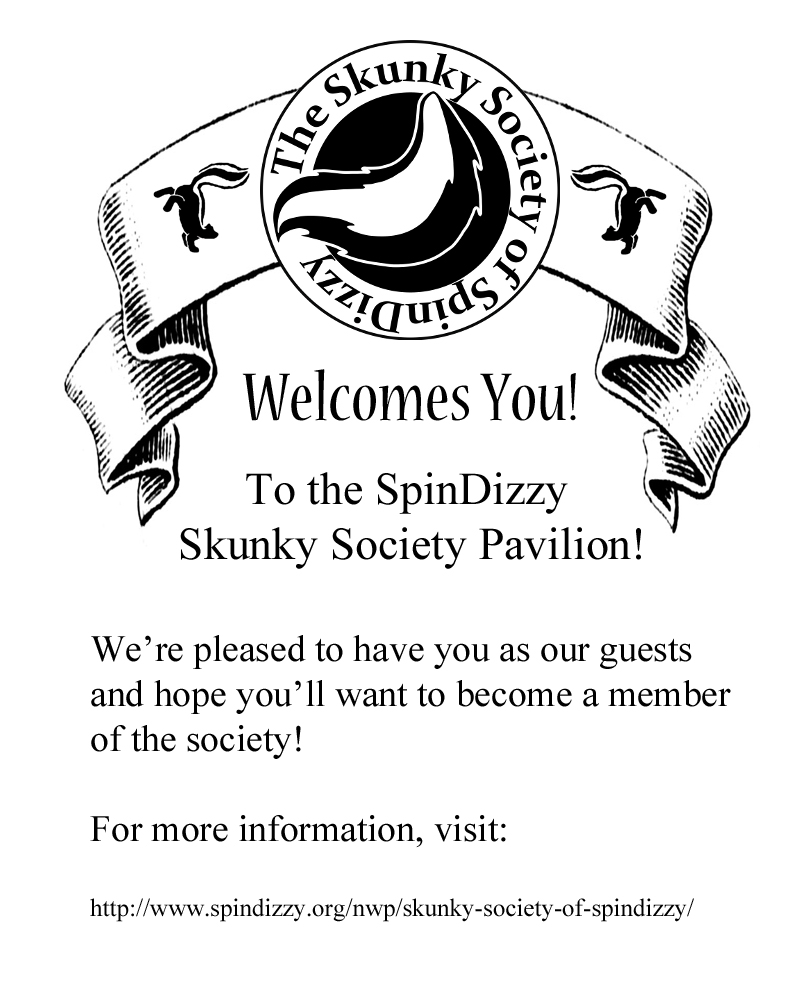 Skunky Society flyer from the 2013 World's Fair.